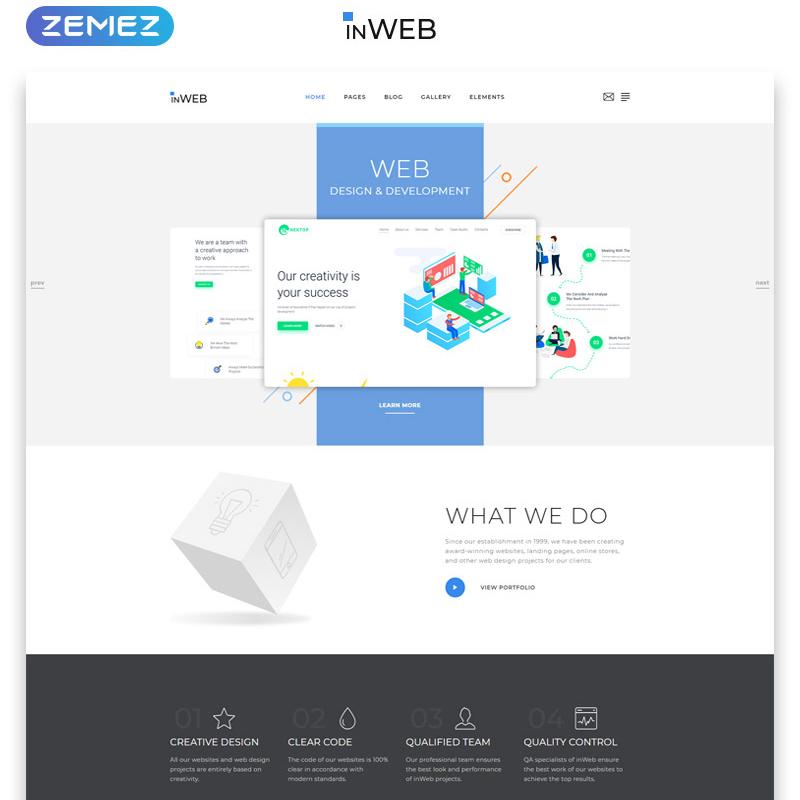 Web Development Studio Clean Multipage HTML5 Template