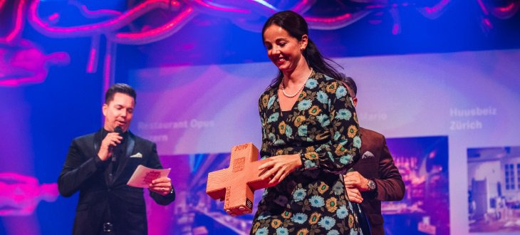 Sabine Sailer à propos du Best of Swiss Gastro Award