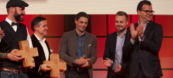 Markus Segmüller sopra Best of Swiss Gastro Award