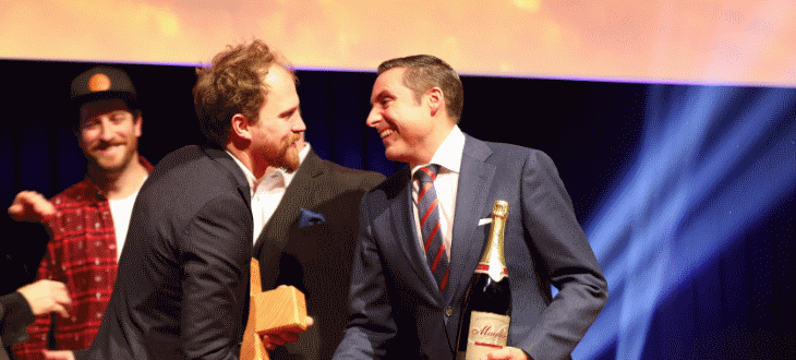Tobias Wolf sopra Best of Swiss Gastro Award