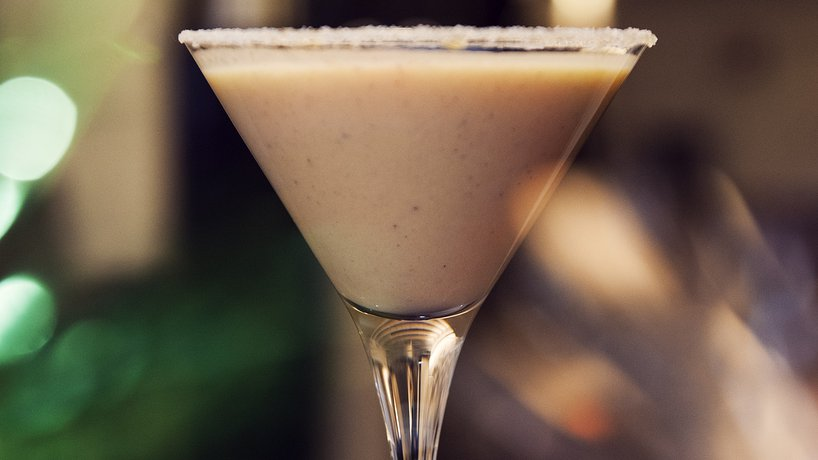 Pumpkin Chai Martini