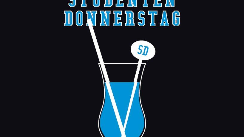 "Flyer ""Studenten-Donnerstag"""