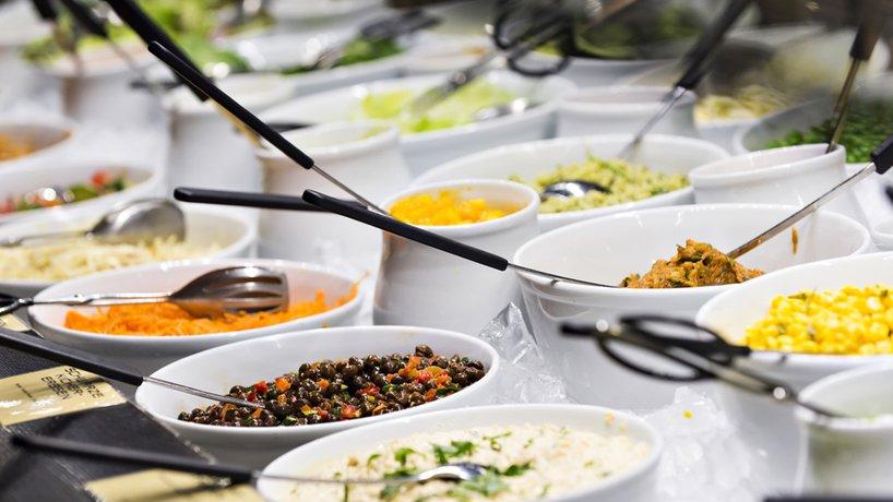 Hiltl-Buffet Salate