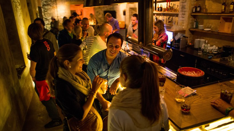 Die Bar im Sous-Sol