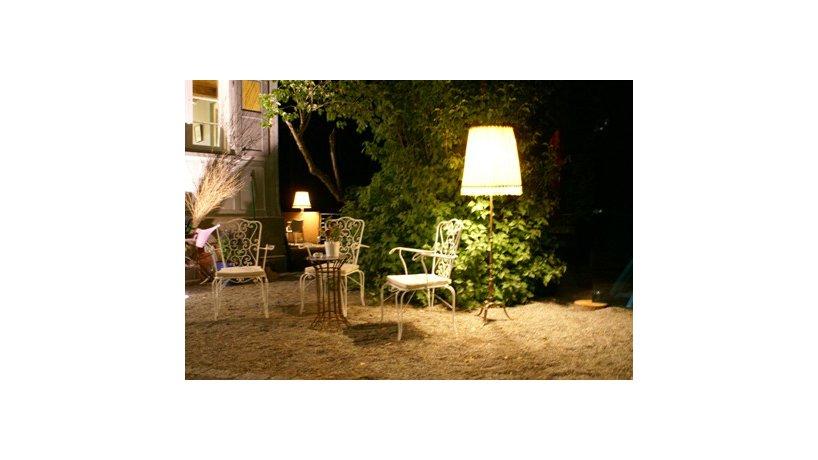 Nacht im kuk-Garten