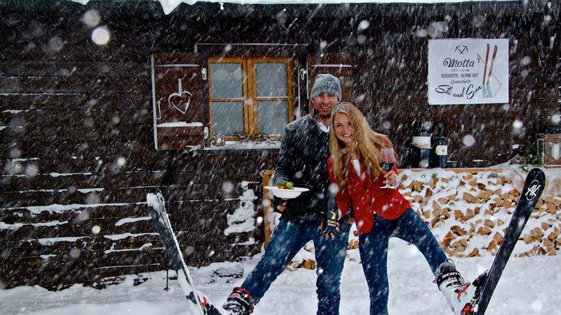 Gastgeber Bianca und Sergio Andreatta