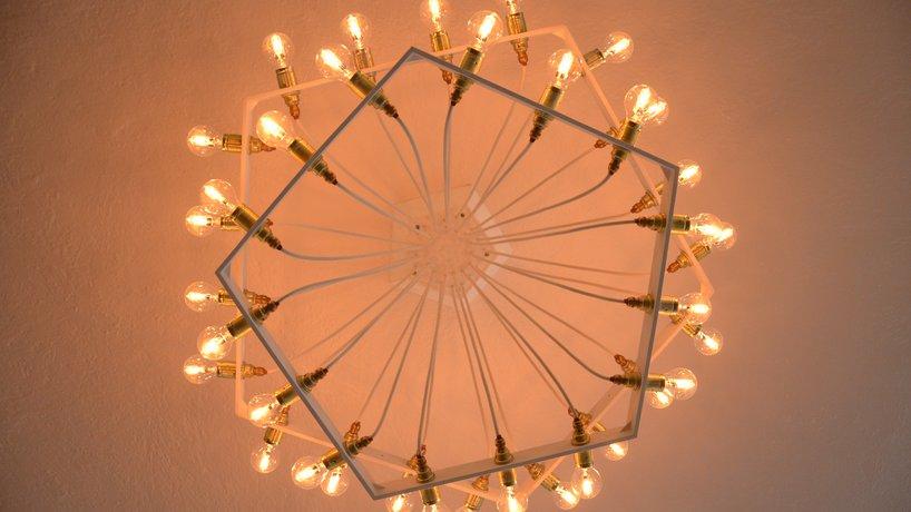 selbst entworfene Leuchten
