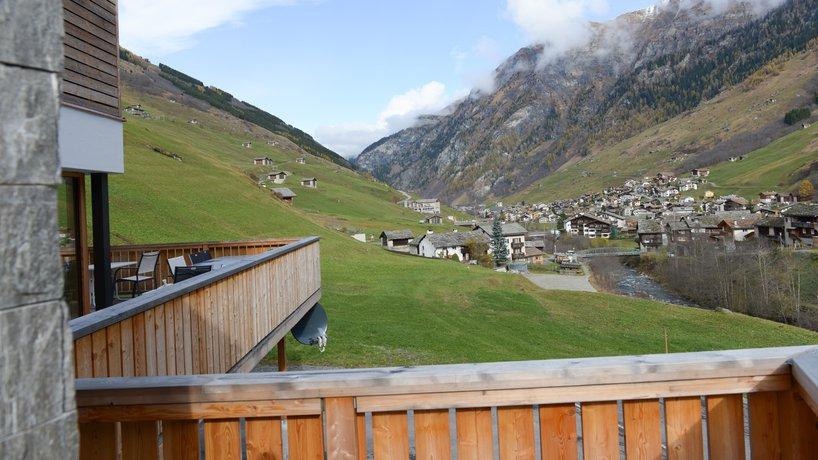 Steinbock mit Tiefsicht - der andere Blick auf Vals