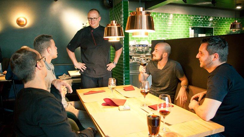 Küchenchef Gunnar Kriening im Gespräch