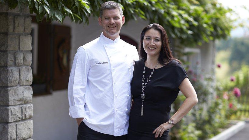 Gastgeberpaar  Alexandra Schilken- Beilke  und Sascha Beilke
