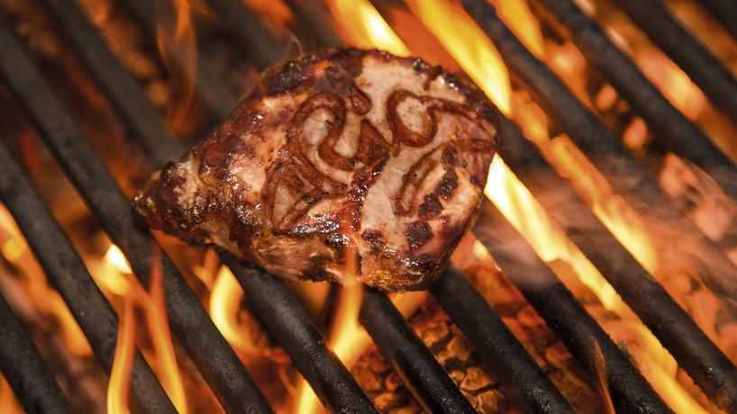 RIO churrasco | Steak mit RIO-Branding