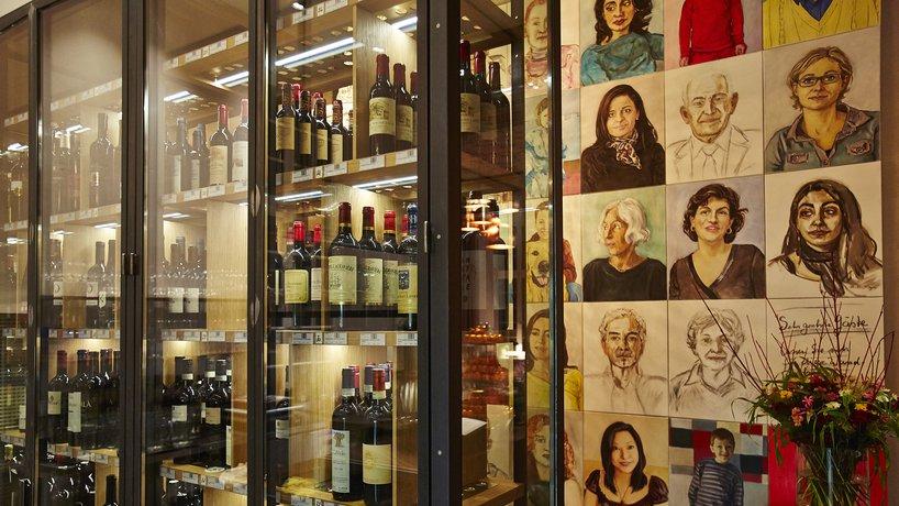 Eine vielseitige Weinauswahl