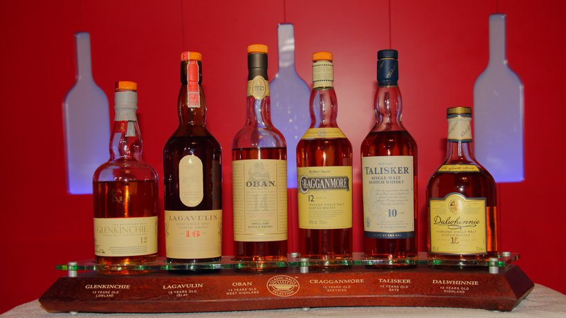 Whisky Auswahl