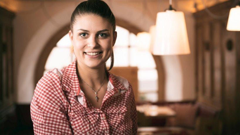 Restaurantleiterin Gianna Beeli