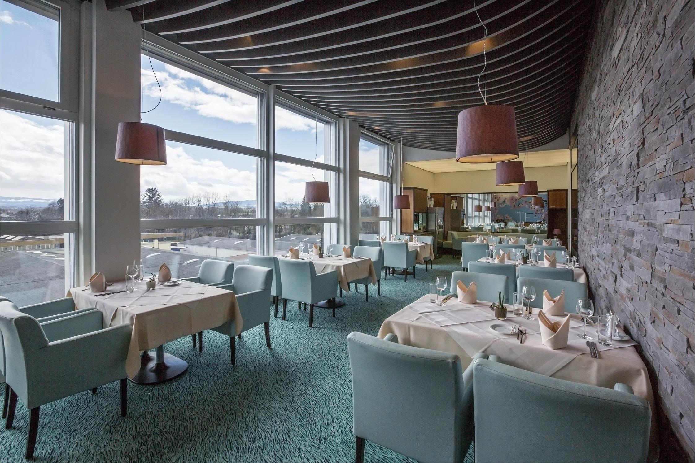 Restaurant säntisblick by brüggli gastronomie usblick in romanshorn