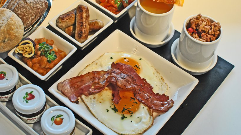 Langschläfer Frühstück
