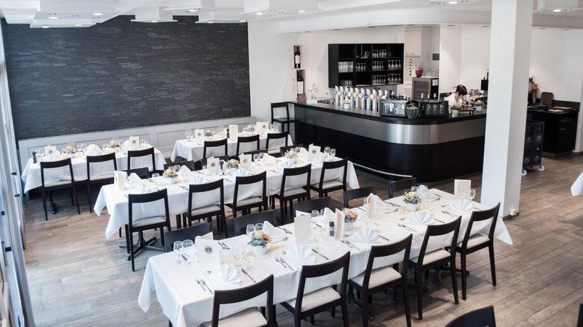 Restaurant bei Bankett