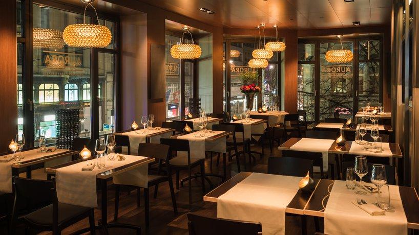 Restaurant AURORA - Seite Bahnhofstrasse