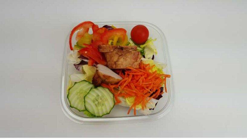 Salat Pouletstreifen