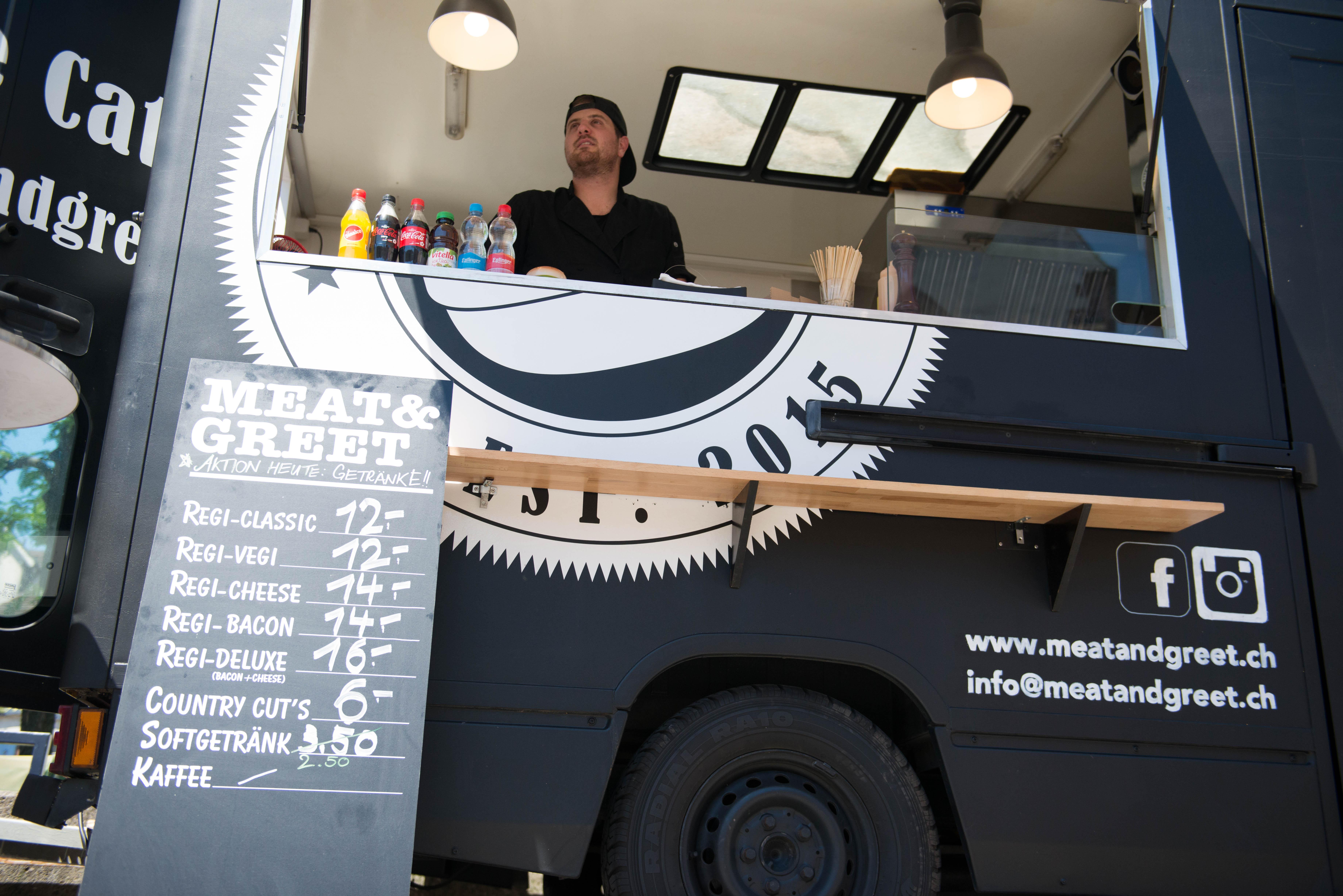 Meat Greet Foodtruck In Aesch Ausgezeichnete Restaurants Bars