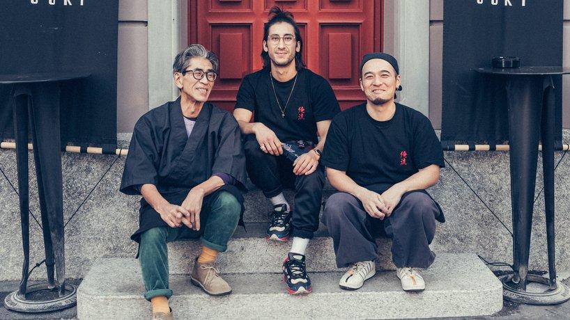 Winningteam: Ooki-san, Ino Ooki & Ken Sakata