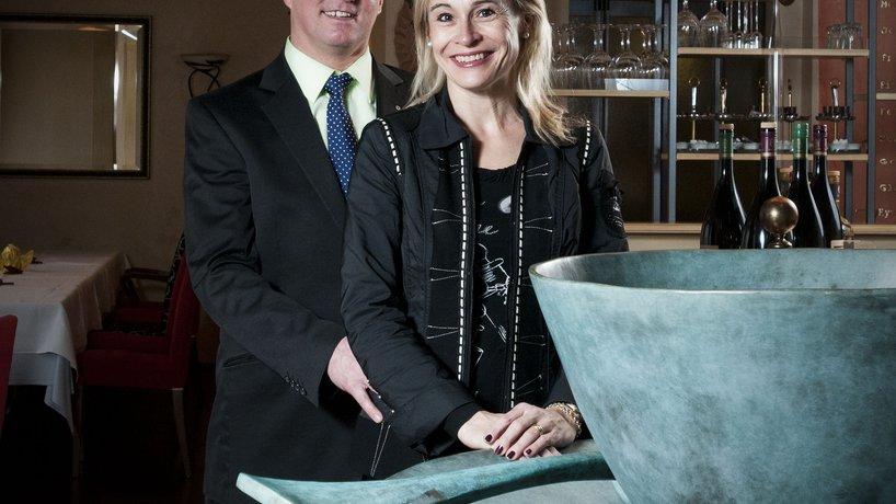 Gastgeber Peter und Monika Lustenberger-Meier