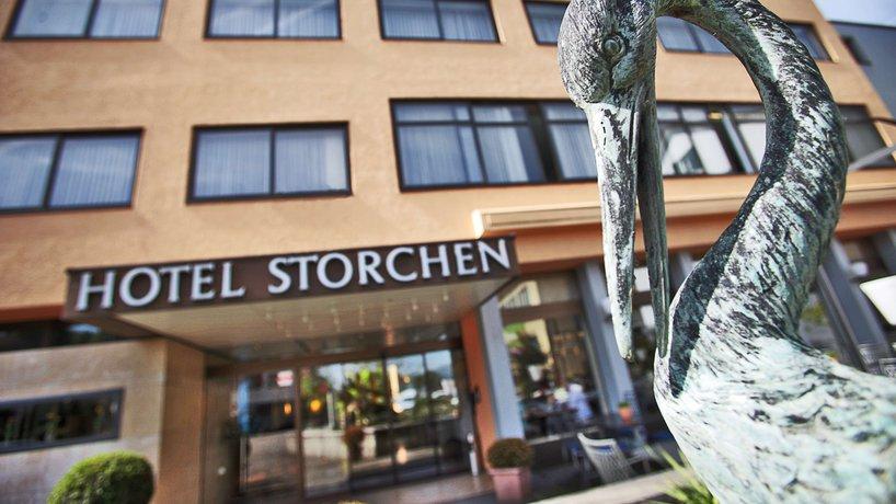 Eingang Hotel **** Storchen Schönenwerd bei Aarau