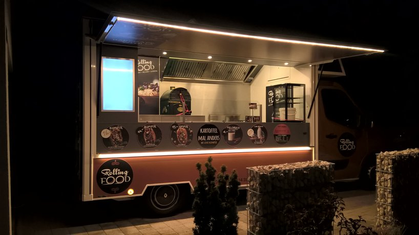 Foodtruck by night