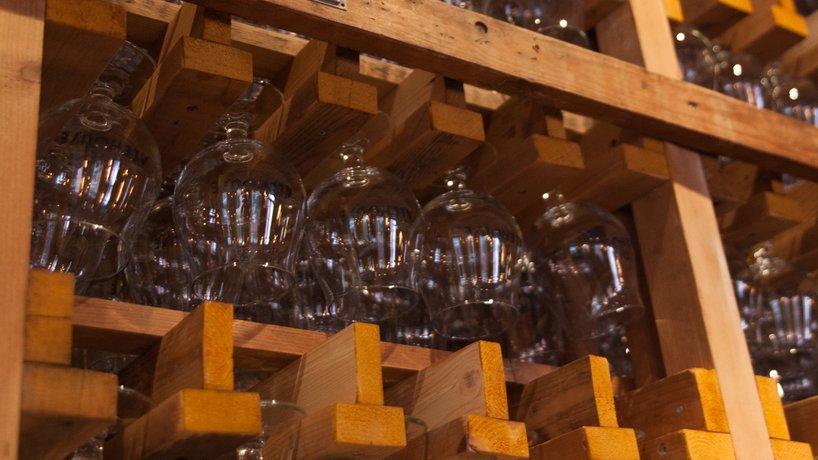 Glasgestell (Bar)