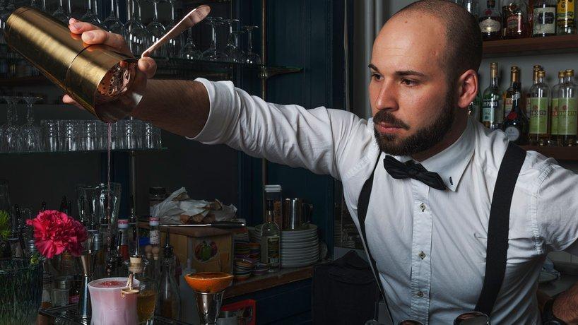 Kreation vom Cocktail SMOKY DAIQUIRI.