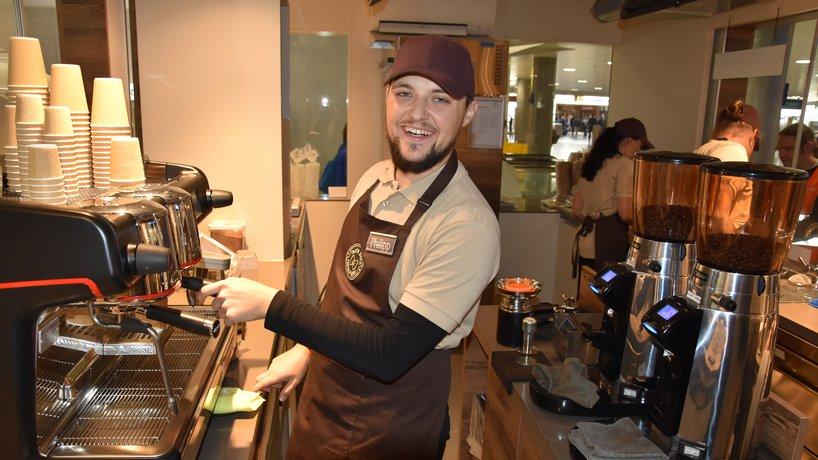 Kaffee vom Barista