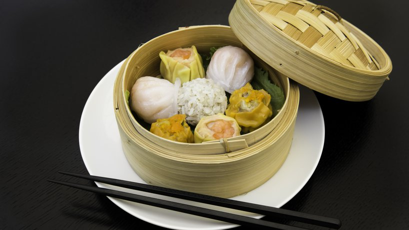 Dim Sum im Golden Dragon China Restaurant.