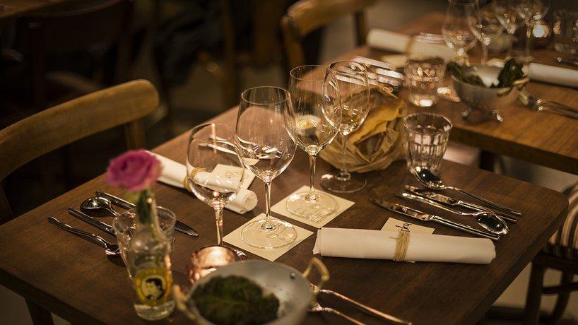 Ambiente bei einem Event mit einem speziellen Gastkoch