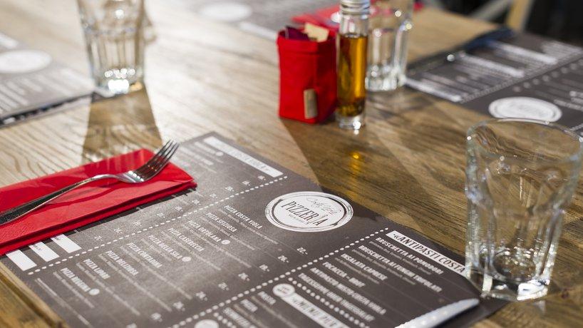 Tischset - Menukarte