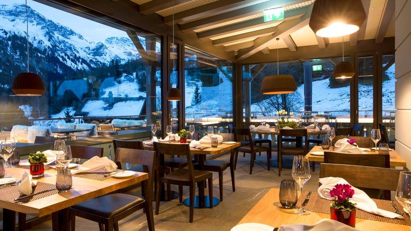 Panorama Restaurant am Abend