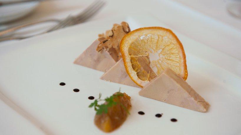 Terrine de foie gras au vin doux du Vully