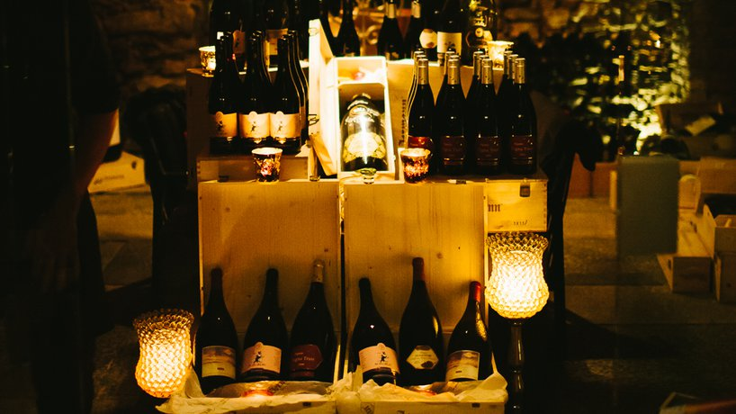 Tabla wine cellar