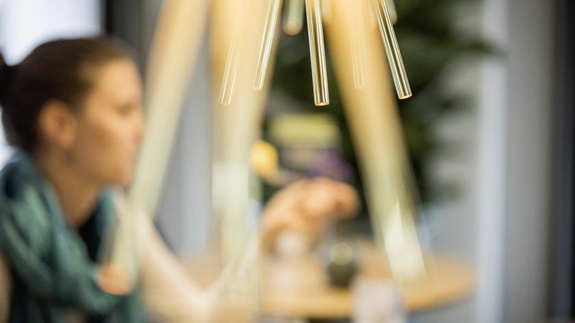 Die Lampen sind ein Design für tibits.