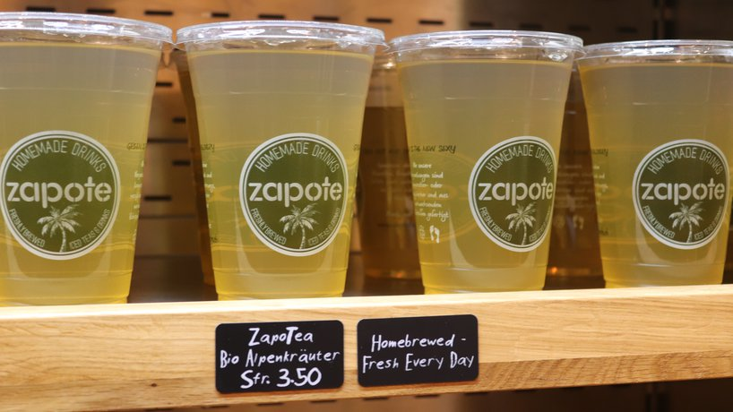 Home Brewed Zapo-Tea