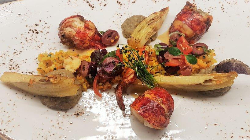 Homard, fenouil & aubergine
