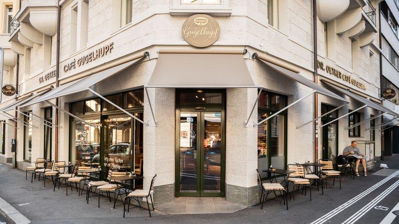 Das Dr. Oetker Café Gugelhupf an der Waldstätterstrasse in Luzern