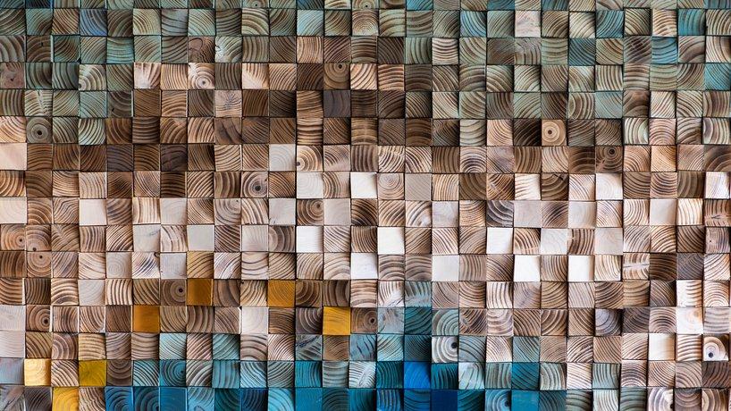 Kunstwerk im Restaurant Glacier von Kasia Mc Art