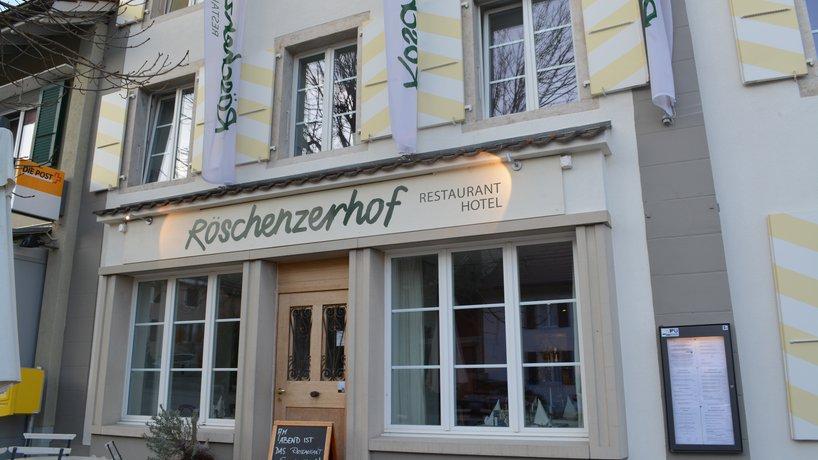 Röschenzerhof Eingang