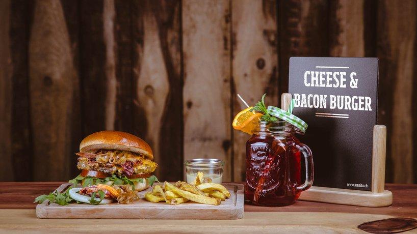 Cheese & Bacon Burger