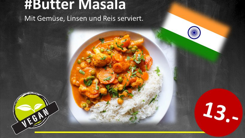 "Butter Masala ""Vegan"""