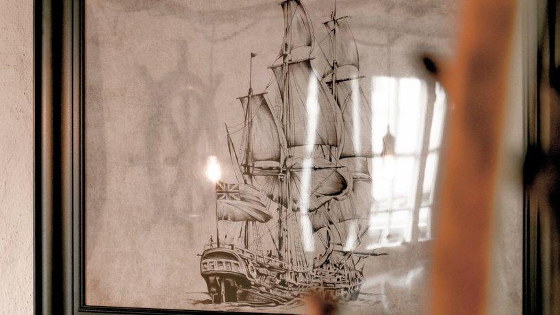 Seemannsstube Segelschiff