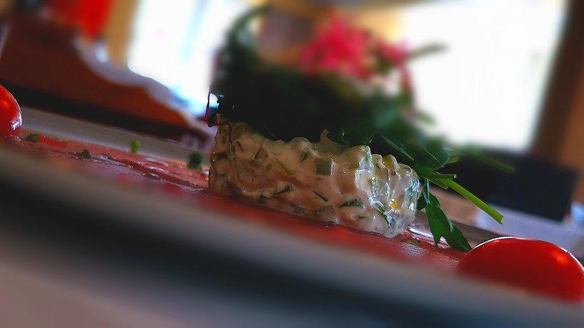Food Volare - Carpaccio con Tatar Asparagi