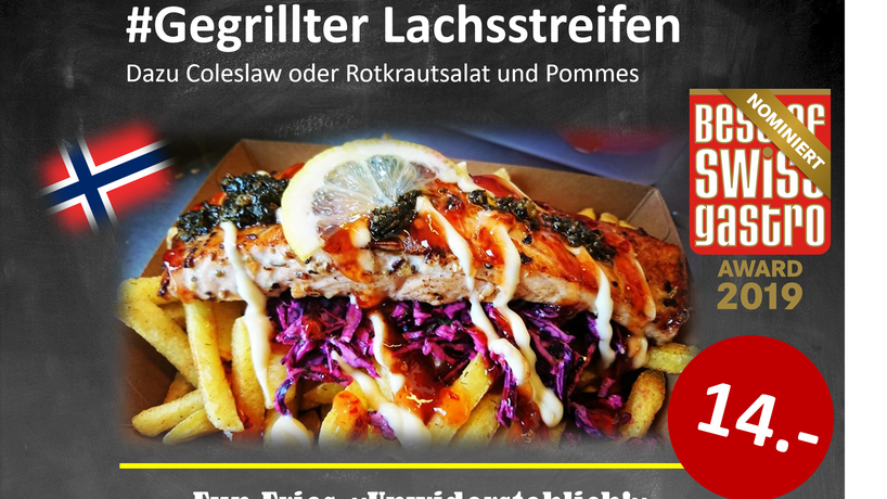 Lachsstreifen Fun Fries