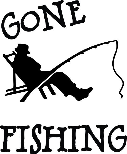 Wir gehen Fischen