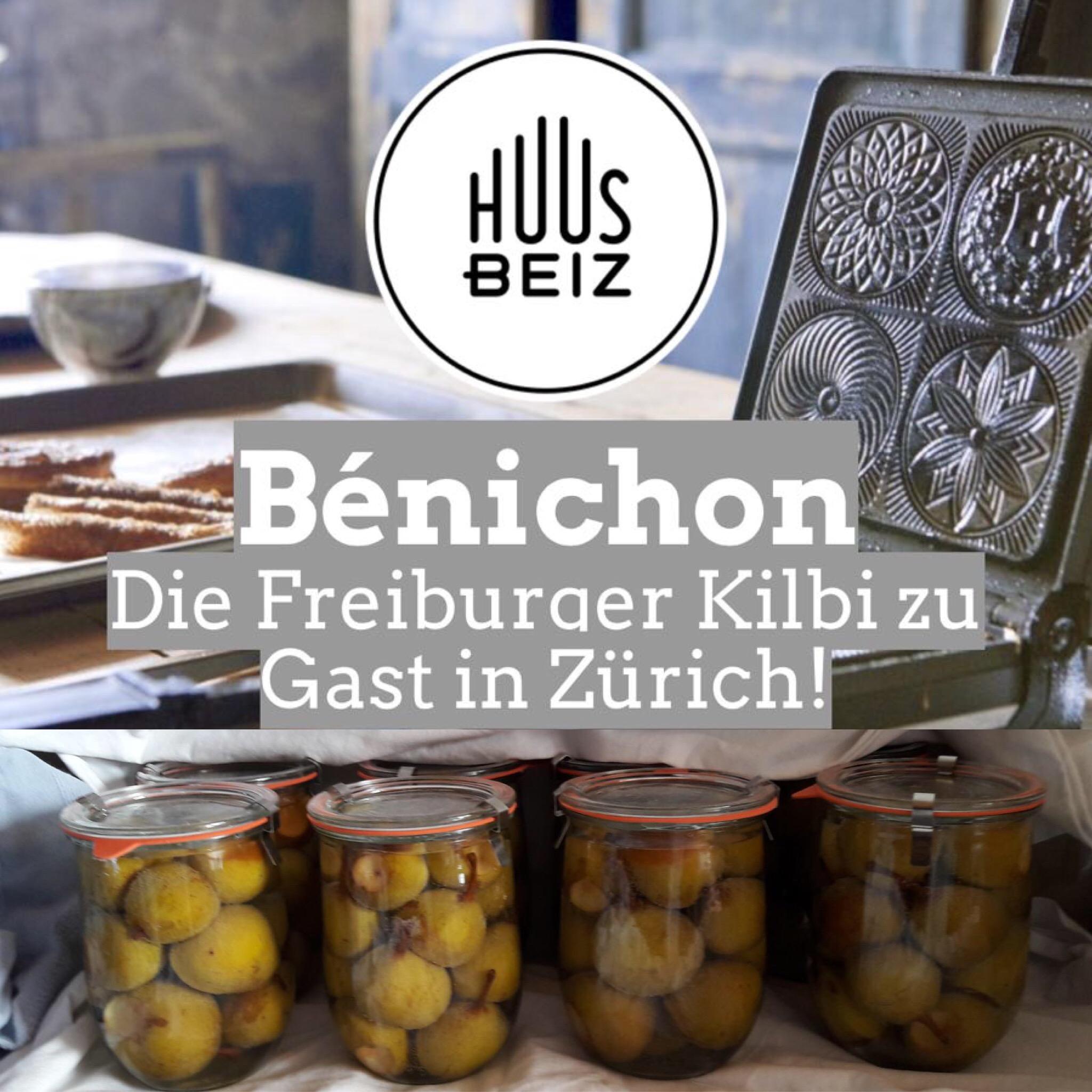 Bénichon - Die Freiburger Kilbi zu Gast in der Huusbeiz